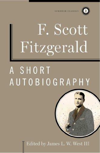 9781451621167: A Short Autobiography (Scribner Classics)