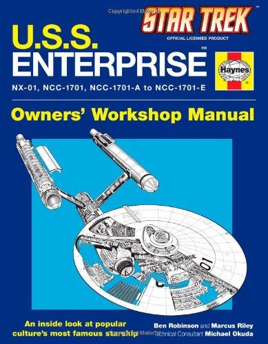 9781451621297: Star Trek U.s.s. Enterprise: Owner's Workshop Manual