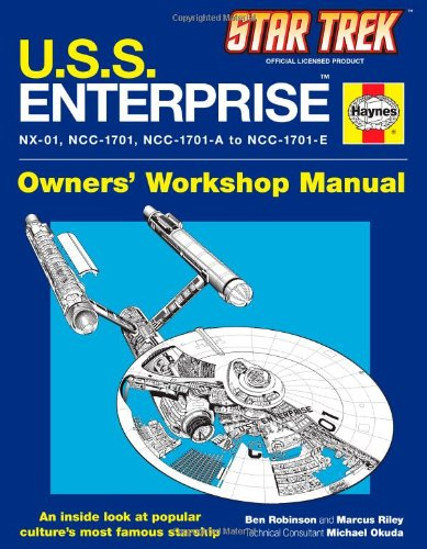 U.S.S. Enterprise Haynes Manual (Star Trek)