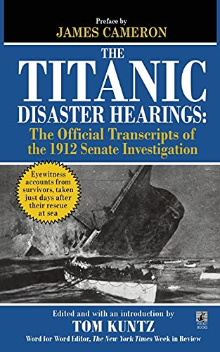9781451623475: The Titanic Disaster Hearings
