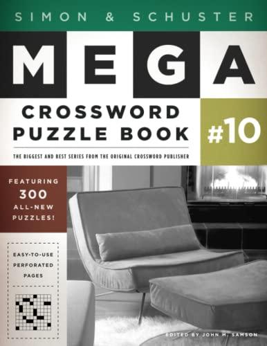 9781451627381: Simon & Schuster Mega Crossword Puzzle Book #10 (S&S Mega Crossword Puzzles)