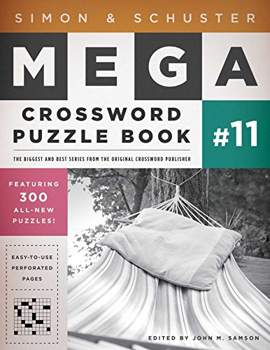 9781451627398: Simon & Schuster Mega Crossword Puzzle Book #11