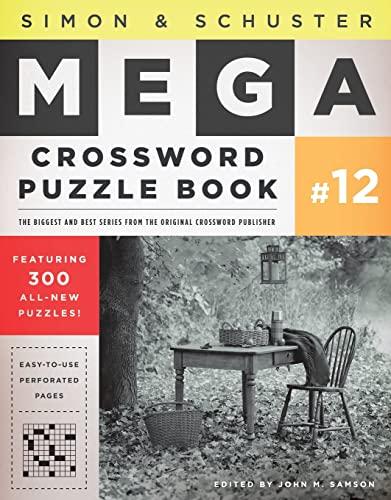 9781451627404: Simon & Schuster Mega Crossword Puzzle Book #12
