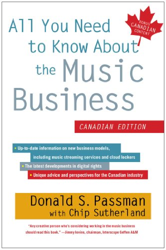 9781451635546: All You Need to Know About the Music Business: Canadian Edition