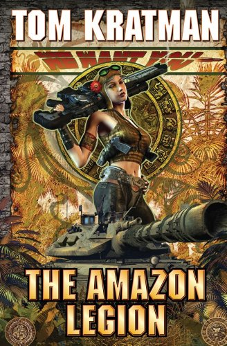 """The Amazon Legion 9781451638134 #4 in former U.S. Army Lieutenant Colonel Tom Kratman's popular and relentlessly hard-hitting Carrera's Legion military science fiction series. With male soldiers lured away, the planet Terra Nova raises a tough and gritty home-guard of women warriors to repel an invasion. The ruthless freedom fighter and liberator of Terra Nova, Patrick Carrera, believed he could rest with a local victory. But now Earth's religious totalitarians intend to hold Carrera's world as a nuclear hostage. It's time to take the nuclear war to Earth. But those who remain must endure the brunt of Earth's revenge attack and find a way to stand and defend. They are the old, the sick and the very young–all led by a battle-tested cadre of warrior women determined to save their planet from tyranny yet again. An amazing new chapter in former U.S. Army lieutenant-colonel Tom Kratman's popular and relentlessly hard hitting Carrera series, a military science fiction masterpiece in the making. About Amazon Legion: """"[I]nterplanetary warfare with. . .[a] visceral story of bravery and sacrifice. VERDICT: Series followers and fans of the military SF of John Ringo and David Webershould enjoy this SF action adventure.""""–Library Journal About Tom Kratman's Carrera's Legions series: """"Kratman's dystopia is a brisk page turner full of startling twists...[Kratman is] a professional military man...up to speed on military and geopolitical conceits."""" –Best-selling author of America Alone Mark Steyn on Tom Kratman's uncompromising military SF thriller, Califate """"Kratman raises disquieting questions on what it might take to win the war on terror...realistic action sequences, strong characterizations and thoughts on the philosophy of war."""" – Publishers Weekly"""