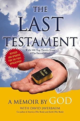 9781451640199: The Last Testament: A Memoir
