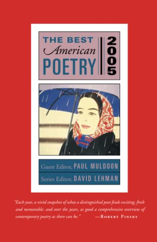 9781451646474: The Best American Poetry 2005: Series Editor David Lehman