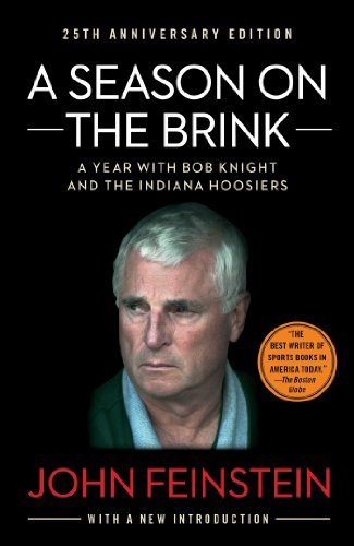 9781451650259: A Season on the Brink: A Year with Bob Knight and the Indiana Hoosiers
