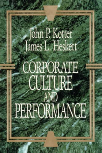 9781451655322: Corporate Culture and Performance