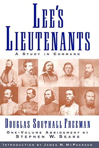 9781451656435: Lees Lieutenants 3 Volume Abridged: A Study in Command