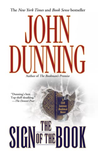 9781451657012: The Sign of the Book (Cliff Janeway Novels)