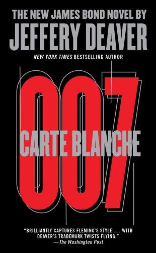 9781451664249: Carte Blanche: The New James Bond Novel