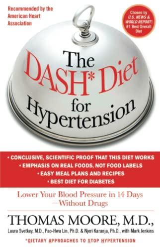 9781451665581: The Dash Diet for Hypertension: Lower Your Blood Pressure in 14 Days - Without Drugs