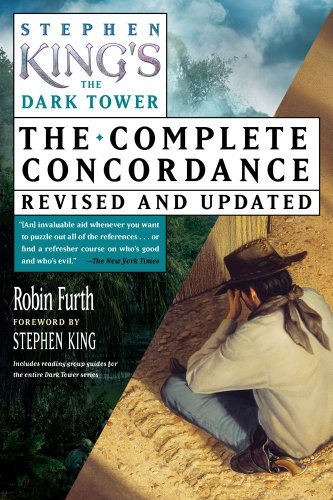 9781451694871: Stephen King's The Dark Tower Concordance
