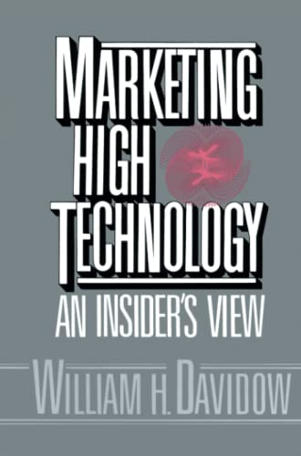9781451697582: Marketing High Technology