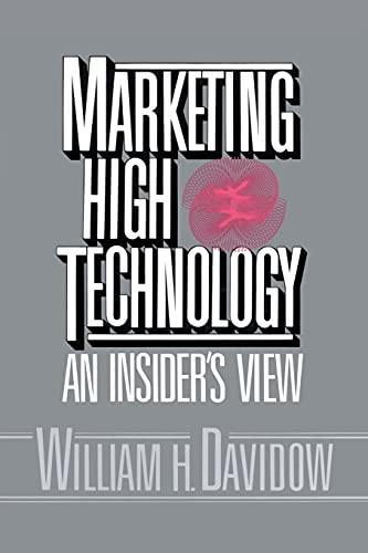 9781451697582: Marketing High Technology