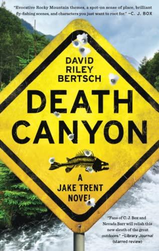 9781451698015: Death Canyon: A Jake Trent Novel