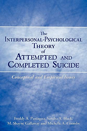 The Interpersonal-Psychological Theory of Attempted and Completed: Freddy A. Paniagua,