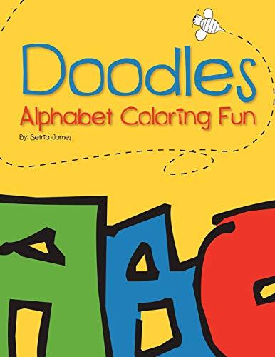 9781452090856: Doodles: Alphabet Coloring Fun
