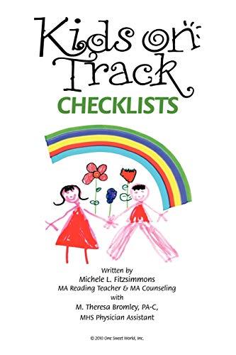 9781452092119: Kids on Track Checklists