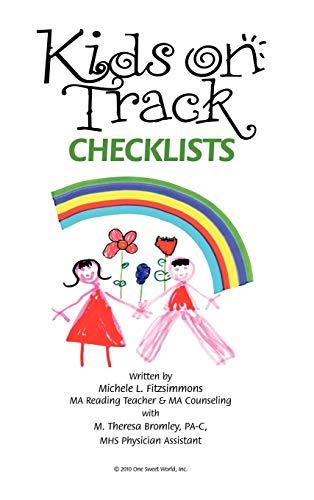 9781452092126: Kids on Track Checklists