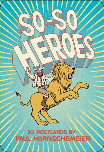 9781452101347: So-So Heroes: 30 Postcards