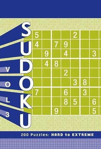 9781452101743: Sudoku 3: 200 Puzzles: Hard to Extreme