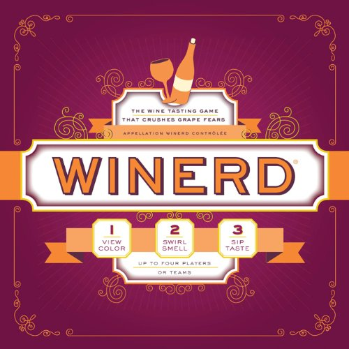 9781452101750: Winerd: The Wine Tasting Game that Crushes Grape Fears