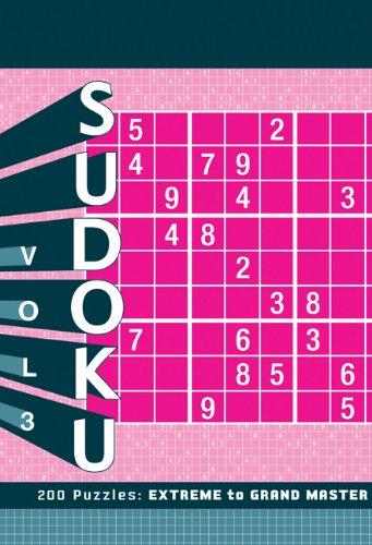 Sudoku 3: Extreme to Grand Master: Chronicle Books