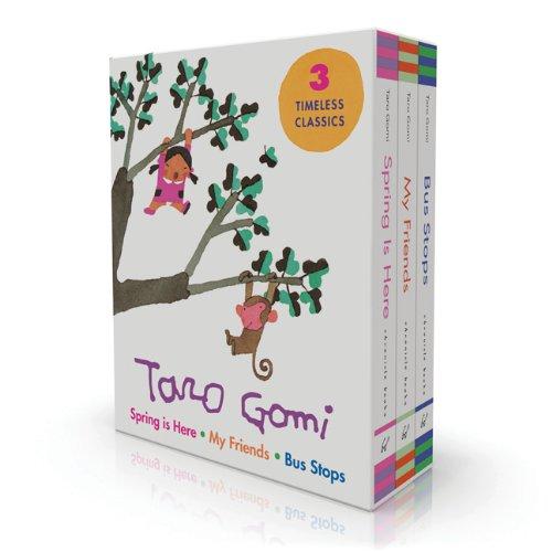 Taro Gomi Board Book Boxed Set (Spring: Taro Gomi