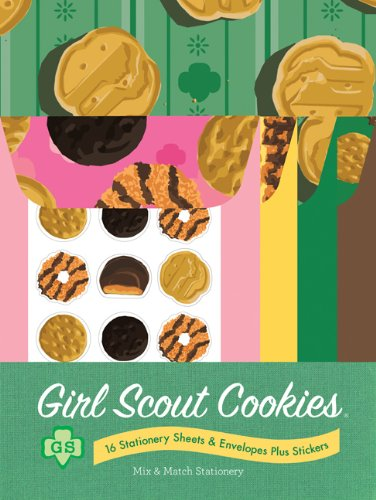 9781452102412: Girl Scout Cookies Mix & Match Stationery