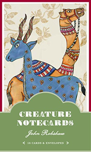 9781452105109: John Robshaw Creature Notecards: 16 Cards and Envelopes
