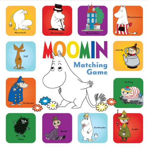 9781452106397: Moomin Matching Game