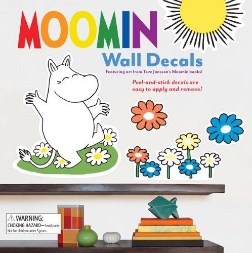 9781452107257: Moomin Wall Decals