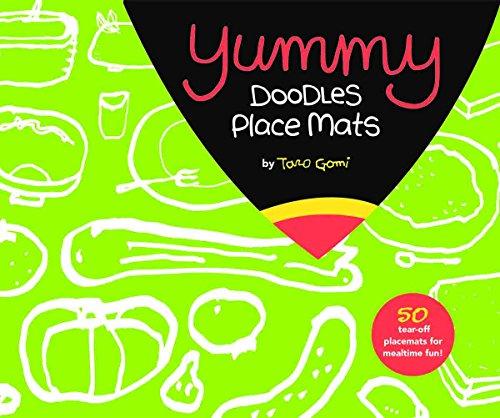 9781452107936: Yummy Doodles Place Mats