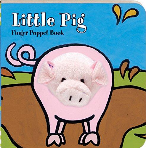 Little Pig: Finger Puppet Book (Little Finger Puppet Board Books): ImageBooks