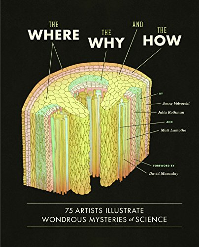 9781452108223: The Where, the Why, and the How: 75 Artists Illustrate Wondrous Mysteries of Science