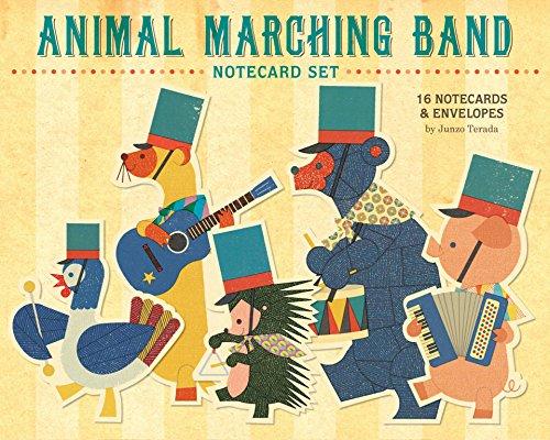 9781452108681: Animal Marching Band Notecard Set