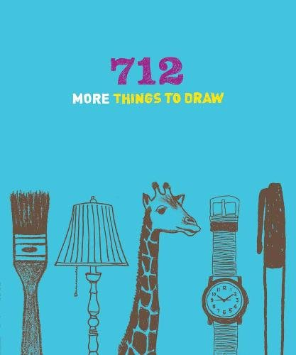 9781452108827: 712 More Things to Draw Journal (642)