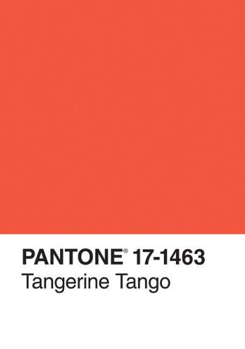 9781452109121: Pantone Tangerine Tango 2012 Color of the Year Journal