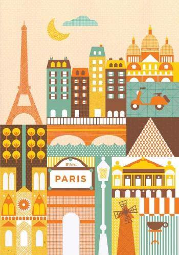 9781452109572: Petit Collage Paris Journal