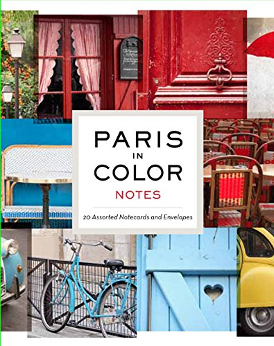 9781452110943: Paris in Color Notes: 20 Assorted Notecards and Envelopes