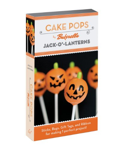 Cake Pops: Jack-O'-Lanterns: Bakerella