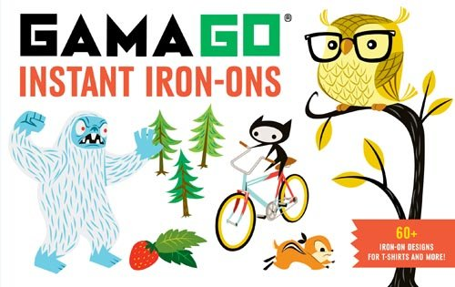9781452111575: Gamago Instant Iron-ons