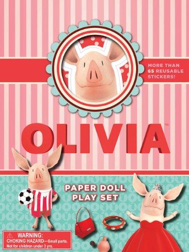 Olivia Paper Doll Play Set: Falconer, Ian