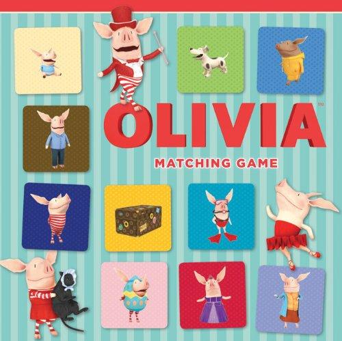 Olivia Matching Game: Falconer, Ian