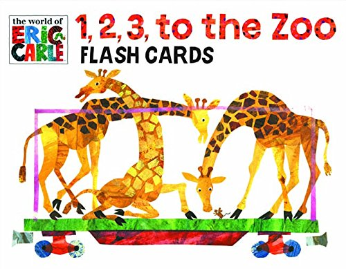9781452113418: The World of Eric Carle(TM) 1, 2, 3, to the Zoo Flash Cards