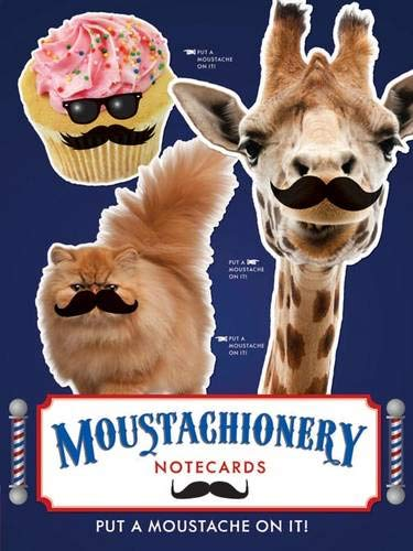 9781452114354: Moustachionery Notecard Set