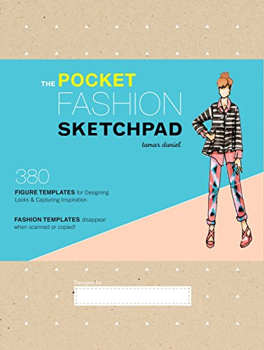 9781452118338: The Pocket Fashion Sketchpad: 380 Figure Templates for Designing Looks and Capturing Inspiration
