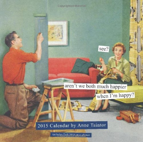 9781452118741: Anne Taintor 2015 Wall Calendar